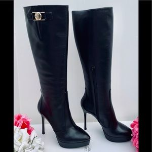 BRAND NEW! VERSACE COLLECTION HIGH HEEL BOOTS